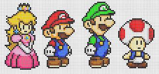 super-mario-pixel-art